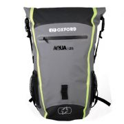 Oxford Aqua B-25 All-Weather Backpack Black/Grey/Fluo OL466